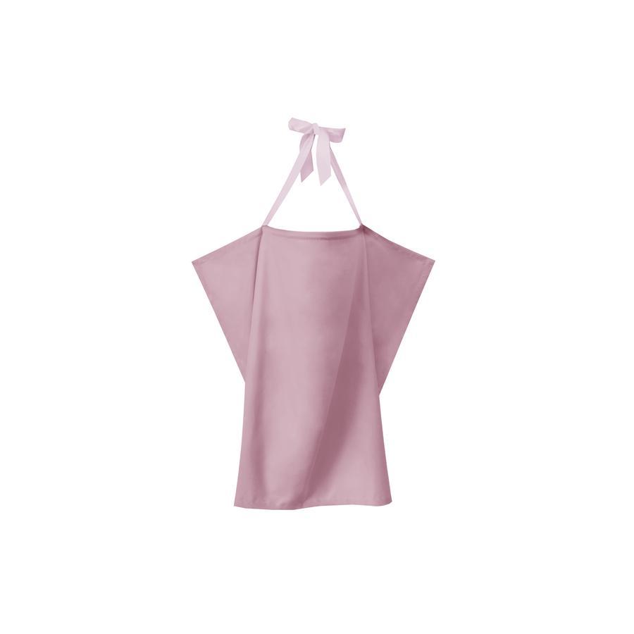 ZELLMOPS Bio zástěna na kojení Růžová Basic velikost 86x61
