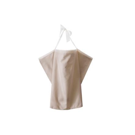 ZELLMOPS Bio Chusta do karmienia z koronką Puder, Basic Size 86x61, nude