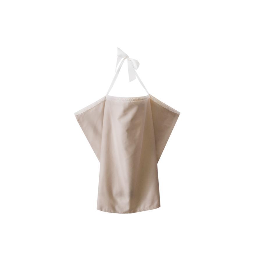 ZELLMOPS Bio Pañuelo de lactancia Talco tamaño básico (86x61), Nude