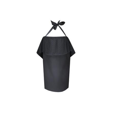 ZELLMOPS Spitzen Stilltuch Fabienne Large Size 86x86, schwarz