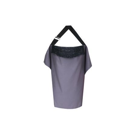 ZELLMOPS Spitzen Stilltuch Nicolette Basic Size 86x61, grau