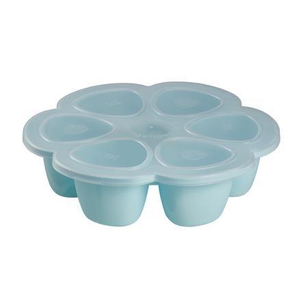 BEABA Aufbewahrungsbehälter Multiportions blau 6 x 90 ml