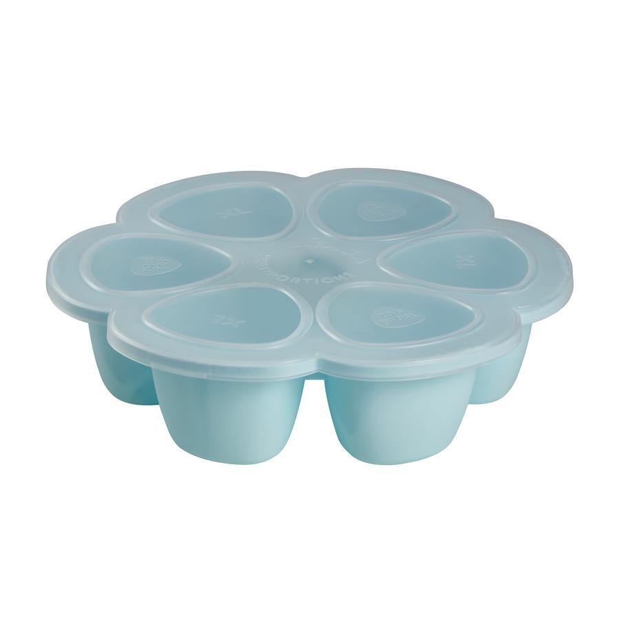BEABA Boxy na uchování potravin, modrá,  6 x 90 ml
