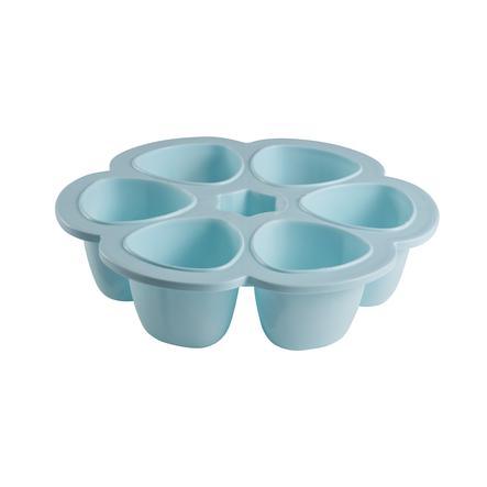 BEABA Boxy na uchování potravin, modrá,  6 x 150 ml