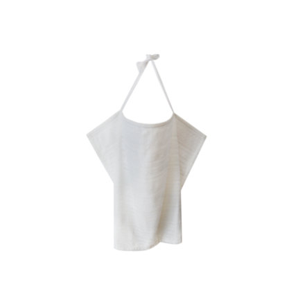 ZELLMOPS Spitzen Stilltuch Boho Basic Size 86x61, weiß