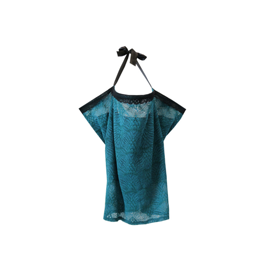 ZELLMOPS Voedingsdoek Metropolis Basic Size 86x61, turquoise