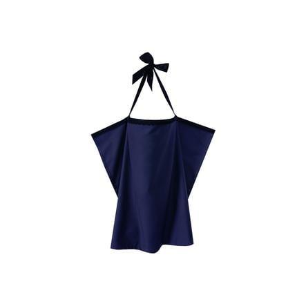 ZELLMOPS Chusta do karmienia z koronką Saphira, Basic Size 86x86, niebieska