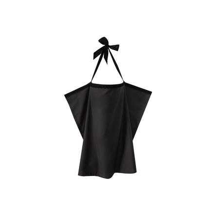 ZELLMOPS Spitzen Stilltuch Onyx Large Size 86x86, schwarz
