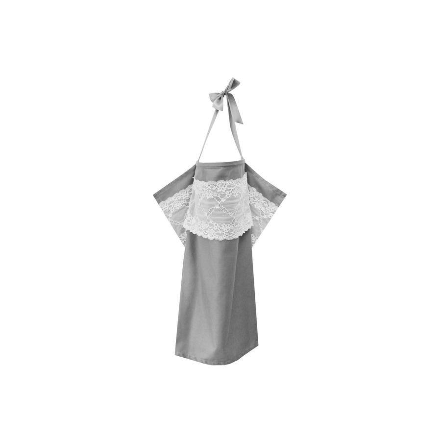 ZELLMOPS Châle d'allaitement Mondstein taille de base 86x61, gris