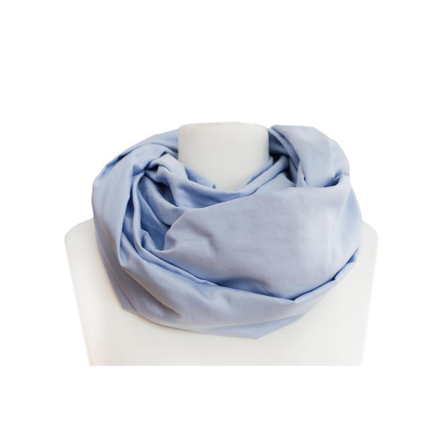 ZELLMOPS Bio Stillschal Bleu, hellblau