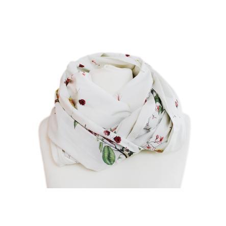 ZELLMOPS Châle d'allaitement Dahlia fleurs