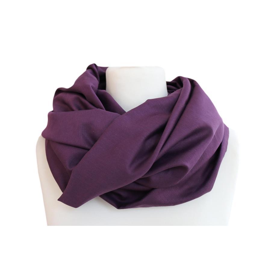 ZELLMOPS Châle d'allaitement mûre violet