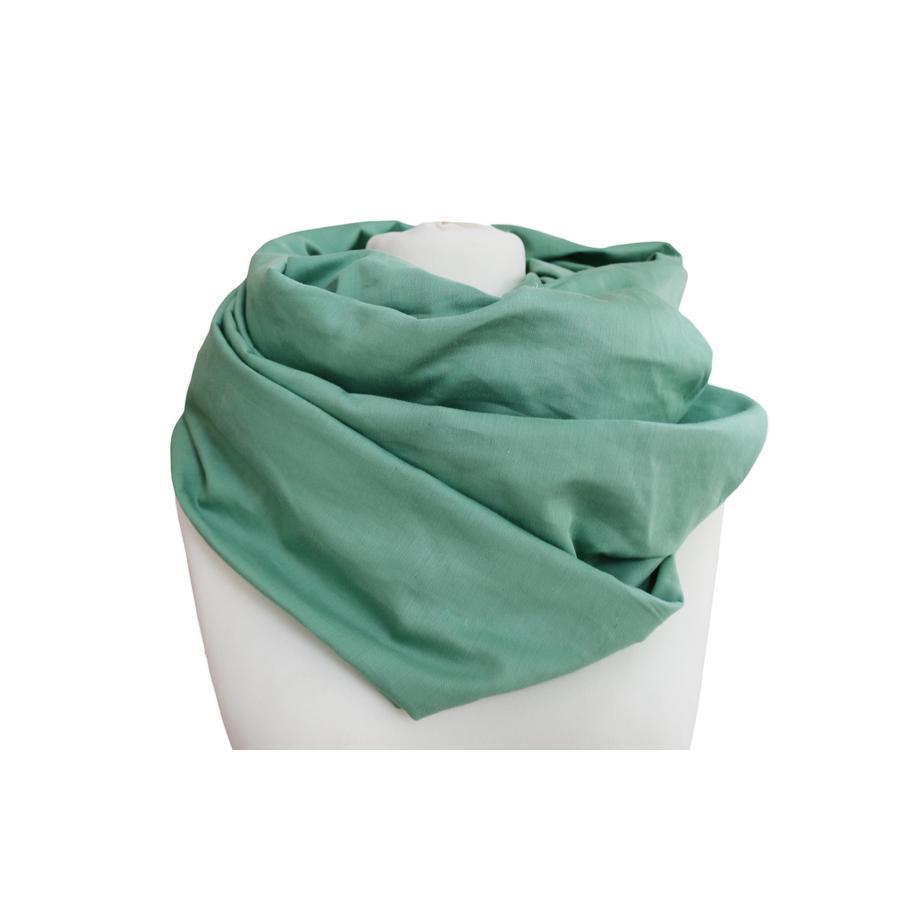 ZELLMOPS Bio Stillschal Mint, grün