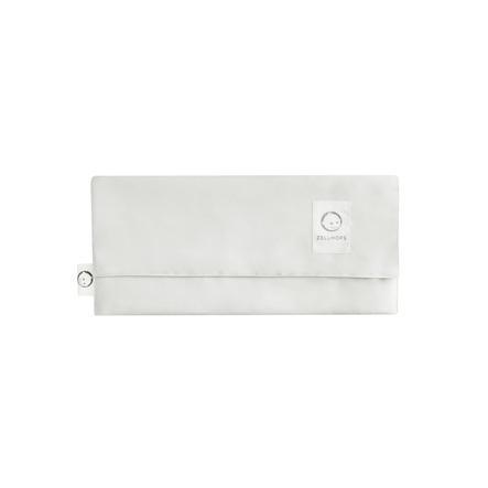 ZELLMOPS Bio Stilltuch Tasche Lämmchen für Large Size (86x86), weiß