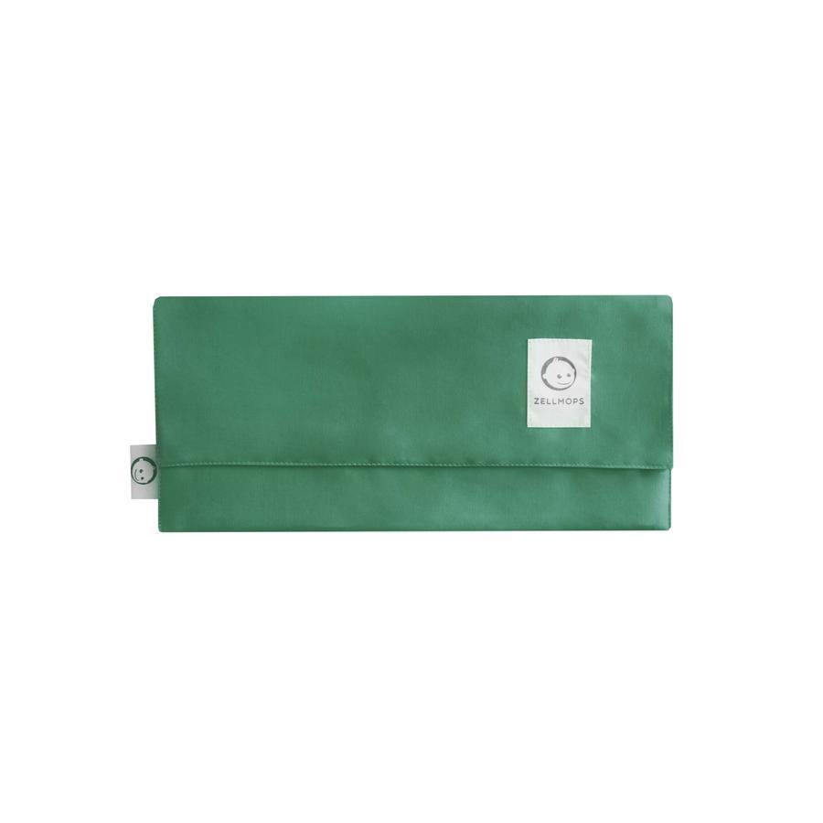 ZELLMOPS Organische verzorgingstas Mint voor de Basic grootte (86x61), groen, groen