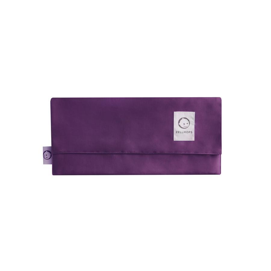 ZELLMOPS Baya orgánica de la bolsa de enfermería para el Large tamaño (86x86), púrpura