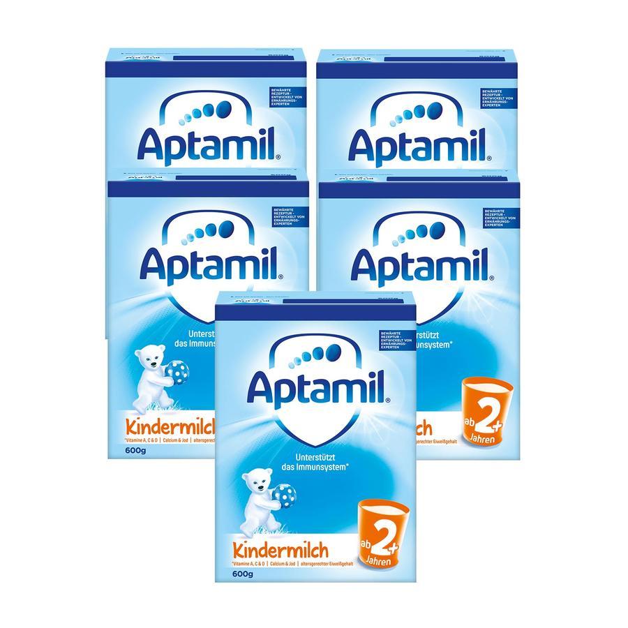 Aptamil Kindermilch 2+ 5 x 600 g ab dem 2. Jahr