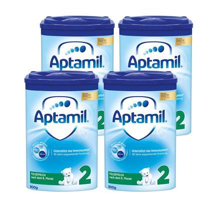 Aptamil Folgemilch Pronutra 2 ADVANCE 4 x 800 g nach dem 6. Monat