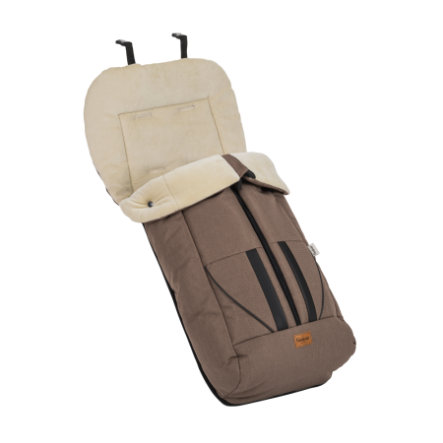 Emmaljunga Allround Fußsack Eco Brown