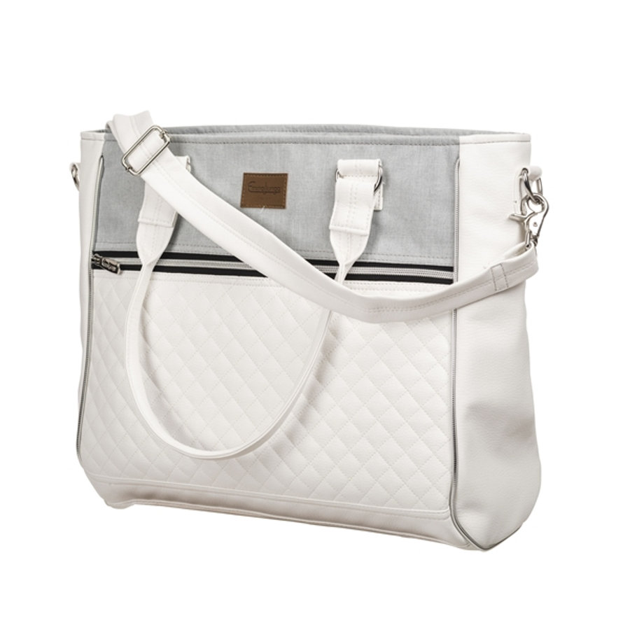 Emmaljunga Wickeltasche Exclusive Lounge Pure