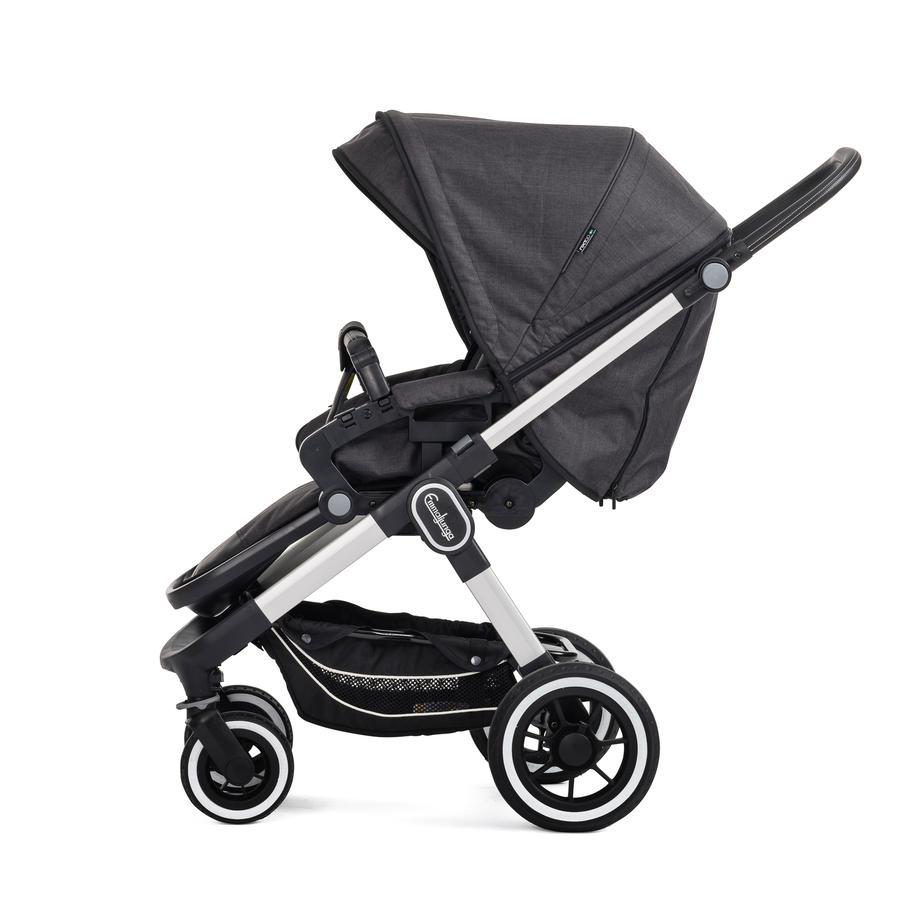 Emmaljunga Kinderwagen NXT60 F Lounge Black