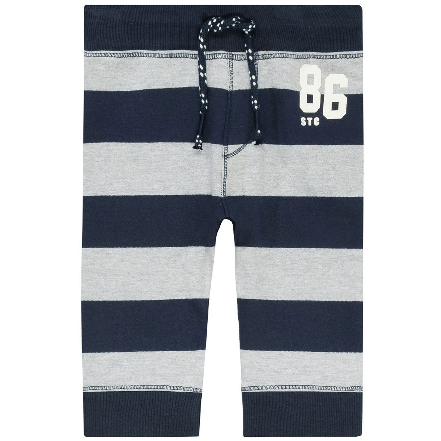 STACCATO Boys Jogginghose dark tinte stripes