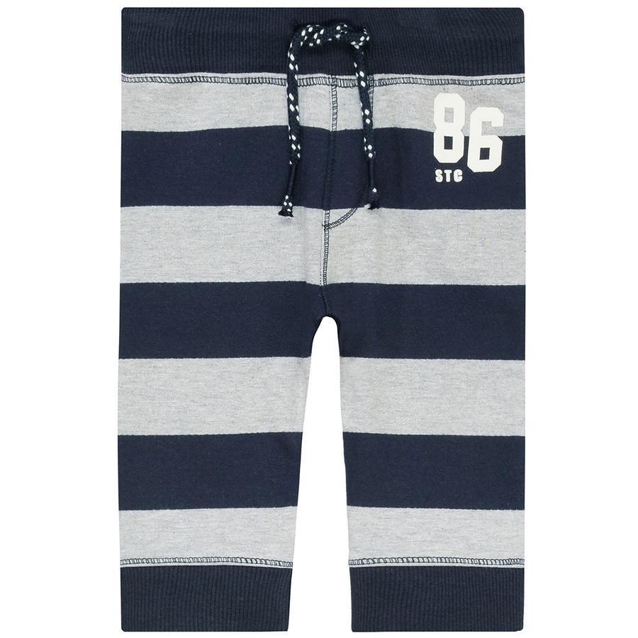 STACCATO Boys Pantalones de chándal rayas de tinta oscura