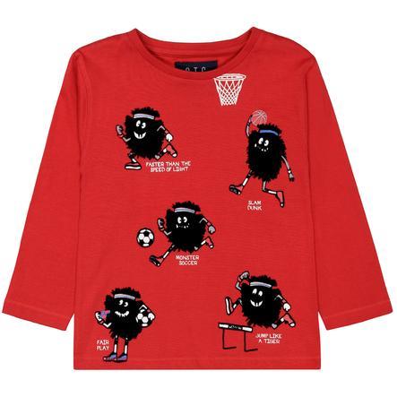 STACCATO T-skjorte for gutter dyp rød