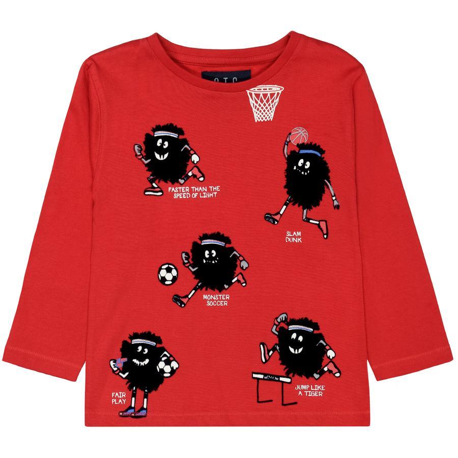 STACCATO Boys T-shirt rojo intenso
