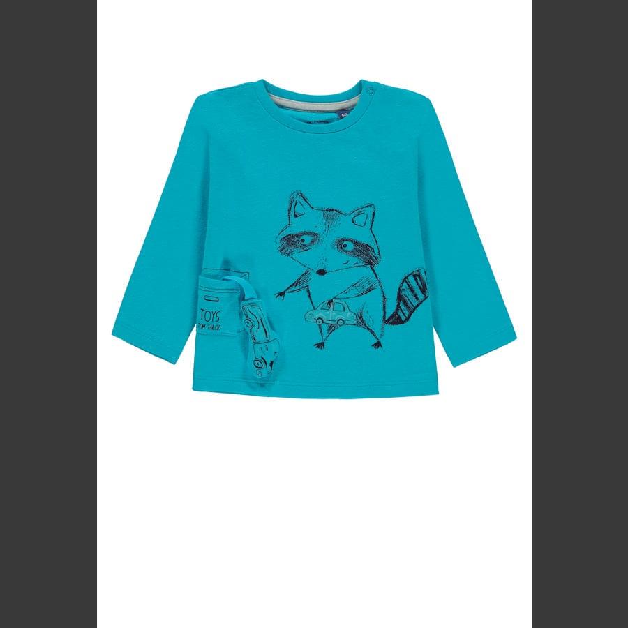 TOM TAILOR Langermet skjorte for gutter, blå
