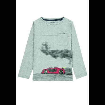 TOM TAILOR Chlapecké tričko s dlouhým rukávem šedé