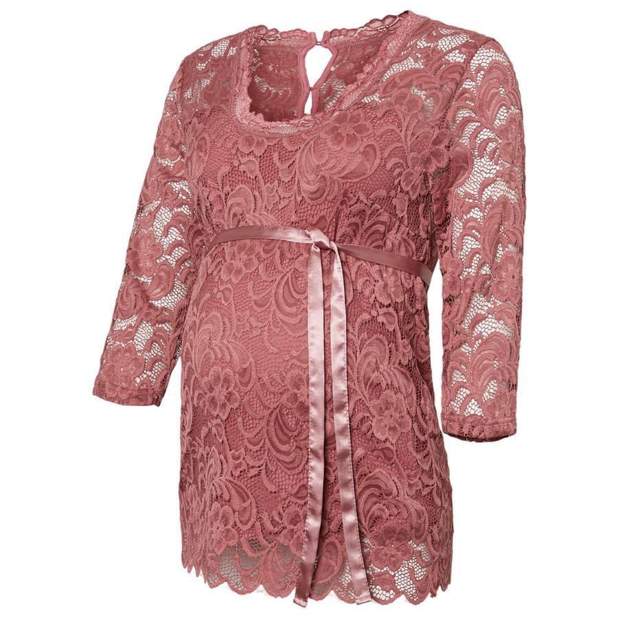 Mama Licious Langærmet t-shirt MLMIVANA Mesa Rose