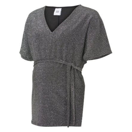 mama licious Camisa de maternidad MLANNA Silver Lurex