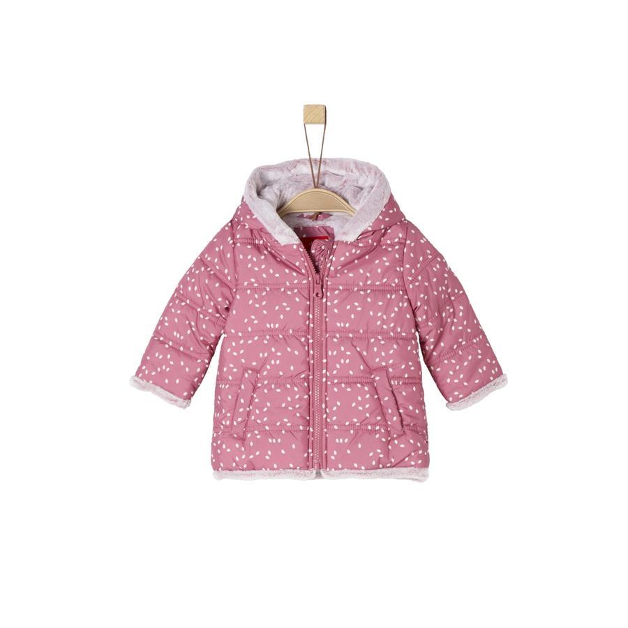 s.Oliver Girls Mantel dark pink