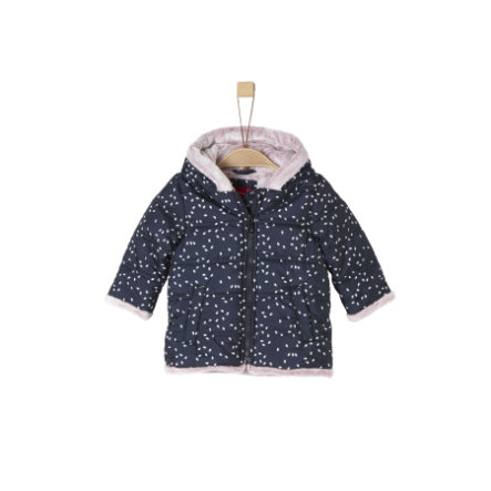 s.Oliver Girl s Vacht donkerblauw AOP