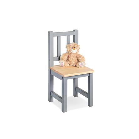 Pinolino højstol Fenna grå / natur