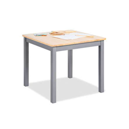 Pinolino Dětský stolek Fenna šedá / přírodní