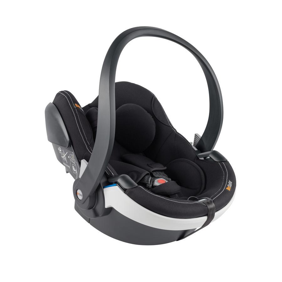 BeSafe Babyschale iZi Go Modular i-Size White Edge Premium Car Interior Black