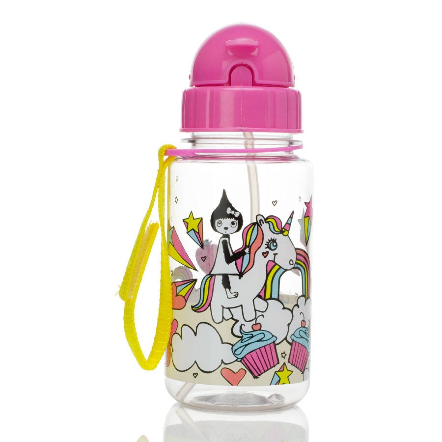 Zip & Zoe Trinkflasche Unicorn 350ml