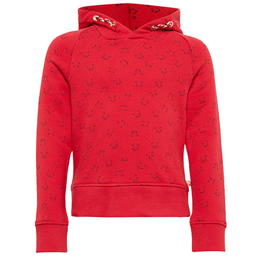 TOM TAILOR Girl s Mouwloze sweater, rood