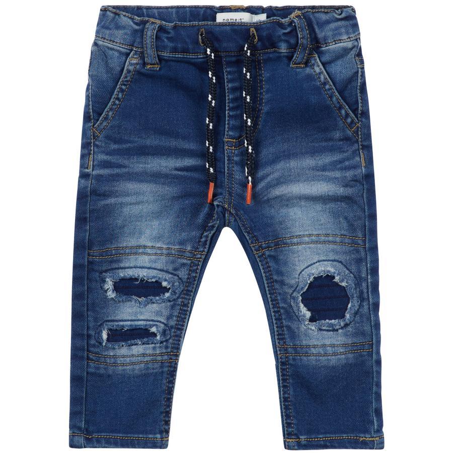 name it Boys Jeans Sofus medium blue denim
