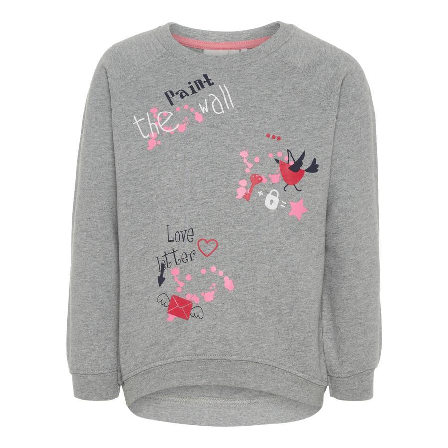 name it Girl Sweatshirt Wenus szary melange