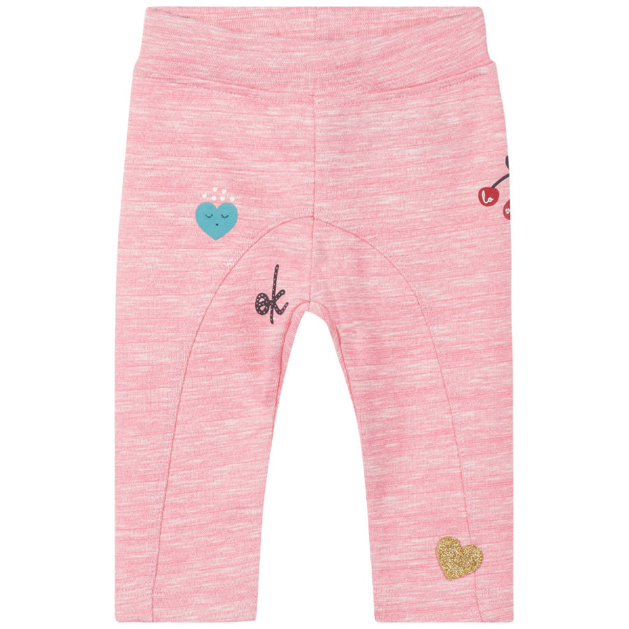 name it Girl Leggings Olain bubblegum