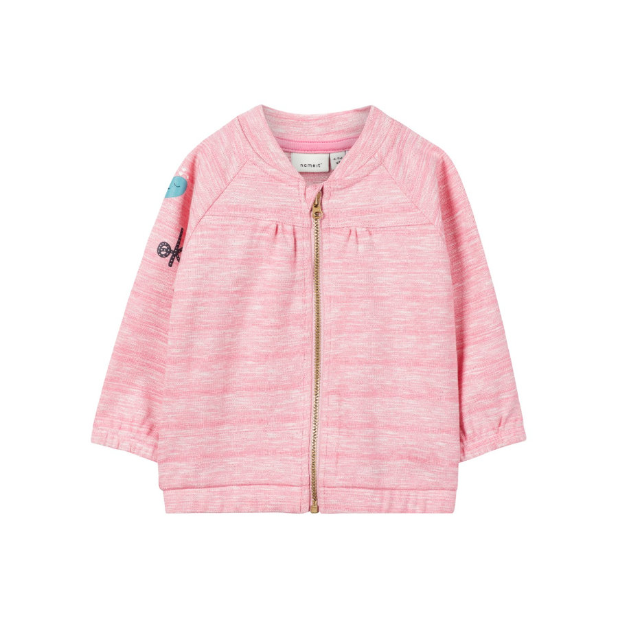 name it Girls Cardigan Olain bubblegum
