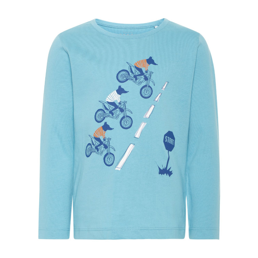 NAME IT Poikien pitkähihainen paita Victor delphinium sininen