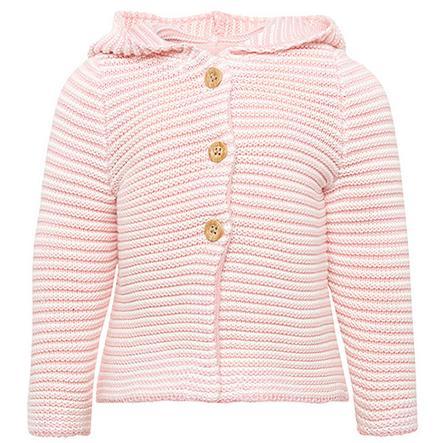 TOM TAILOR Tyttöjen neuletakki, vaaleanpunainen