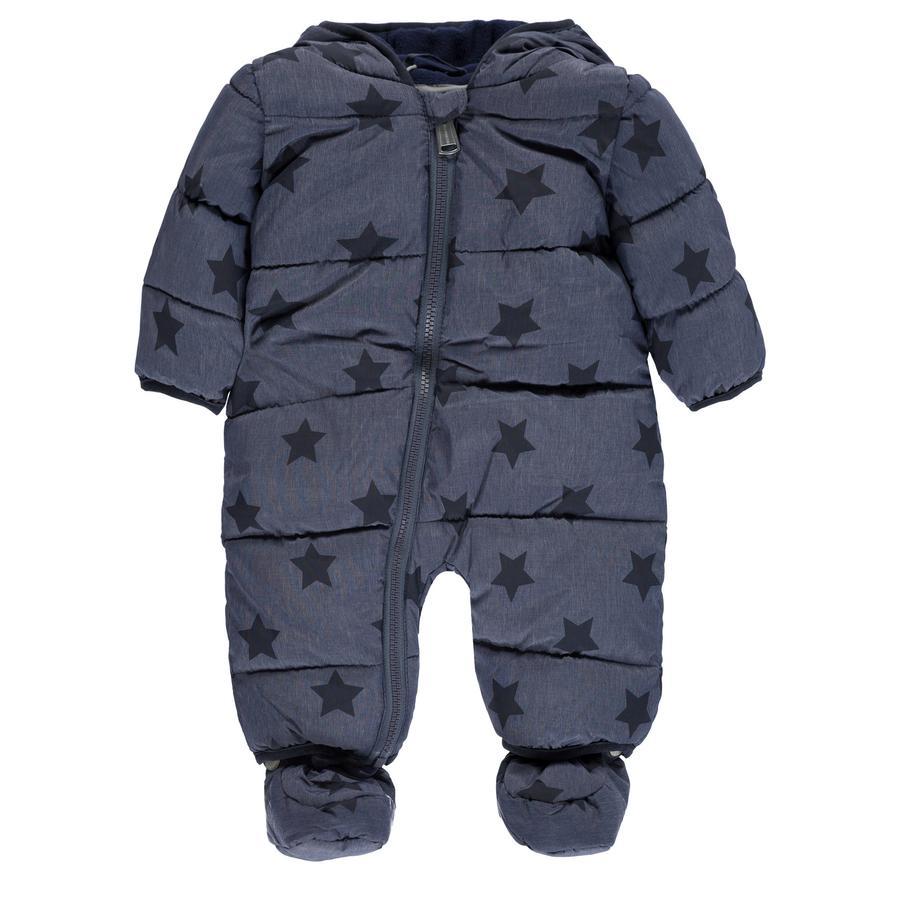 bellybutton  Sněhový overal, modrý s hvězdami