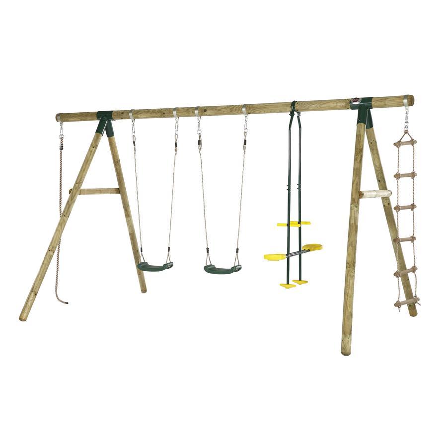 plum® Schaukel- und Kletterset Orang-Utan aus Holz
