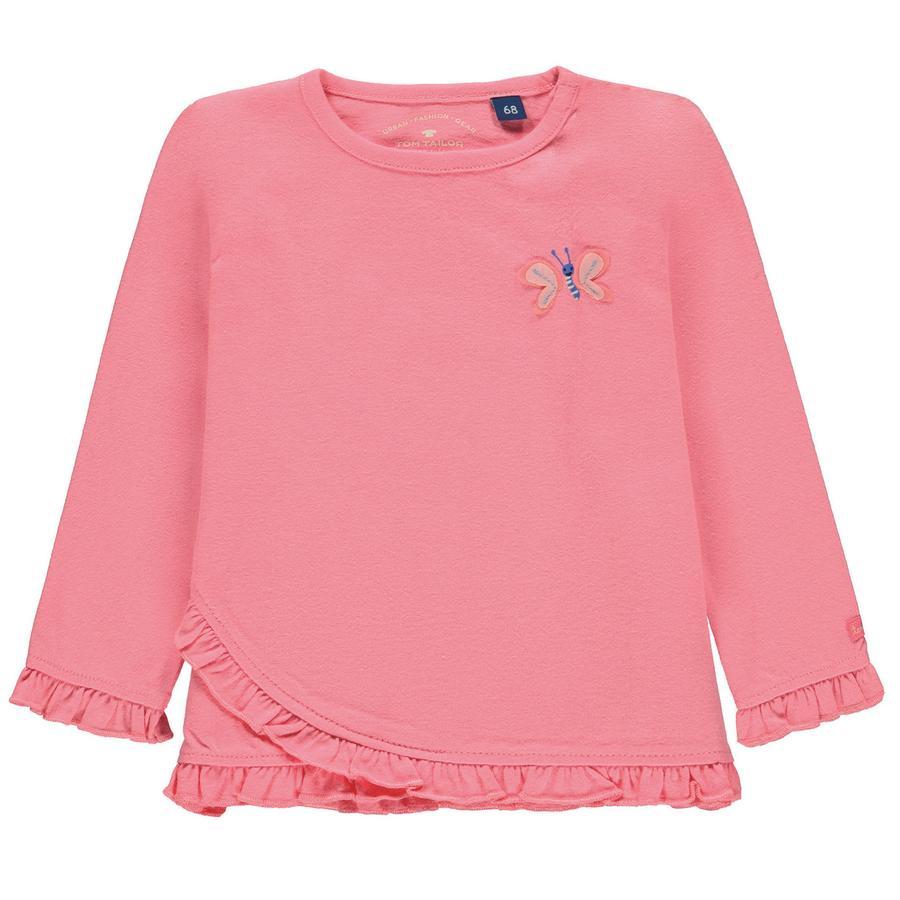 TOM TAILOR Girl s shirt met lange mouwen, roze