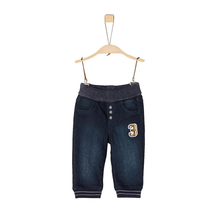 s.Oliver Jeans azul denim stretch
